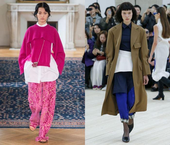 Тенденции моды весна-лето 2017:  многослойные наряды
