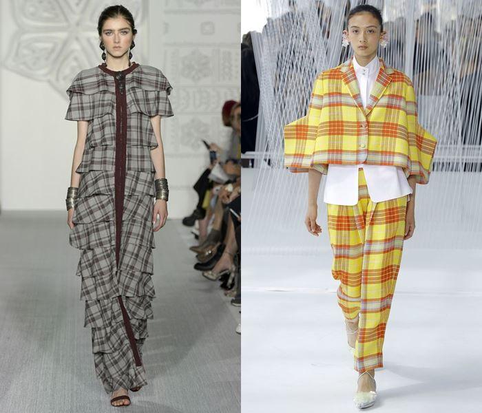Тенденции моды весна-лето 2017: клетчатые комплекты