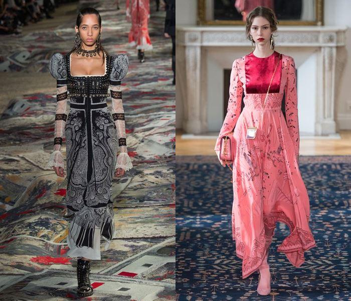 Тенденции моды весна-лето 2017: платья в стиле ренессанса