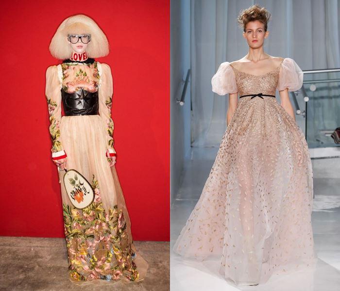 Тенденции моды весна-лето 2017: платья в стиле возрождения