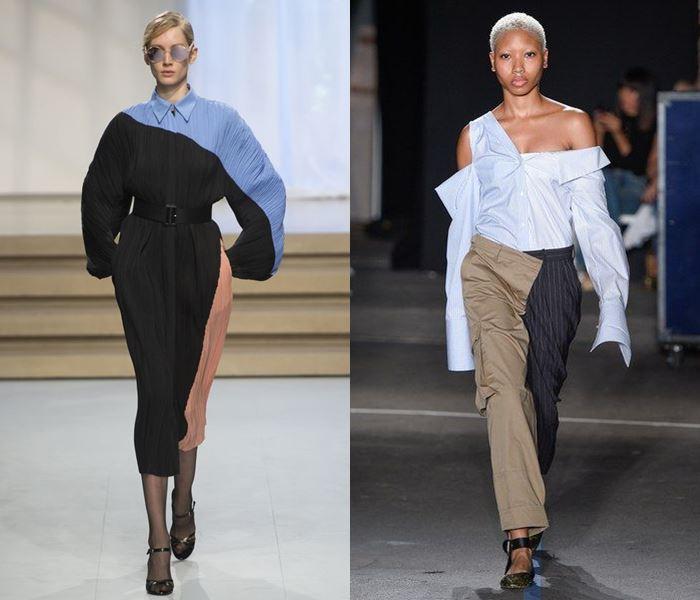 Тенденции моды весна-лето 2017: асимметричный крой