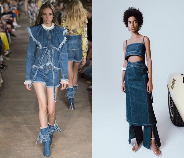 Тенденции моды весна-лето 2017: платья из денима