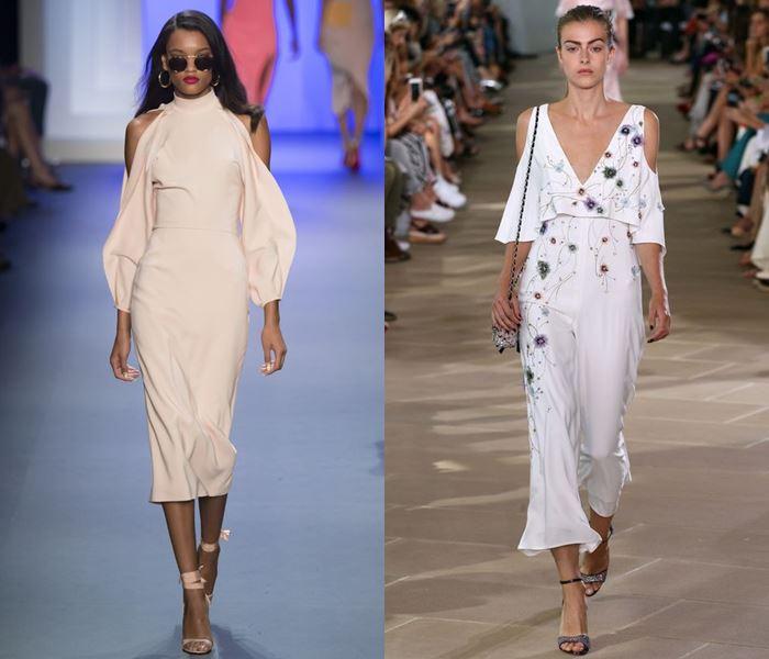 Тенденции моды весна-лето 2017: вырезы на плечах