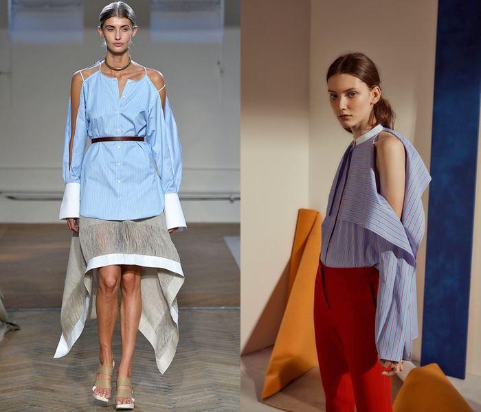 Тенденции моды весна-лето 2017: рукава с разрезами