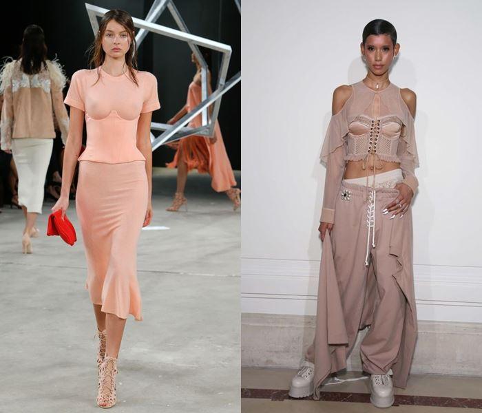 Тенденции моды весна-лето 2017: блузки с корсетами