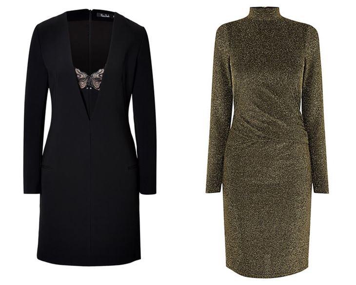Модные коктейльные платья 2017: длинные рукава