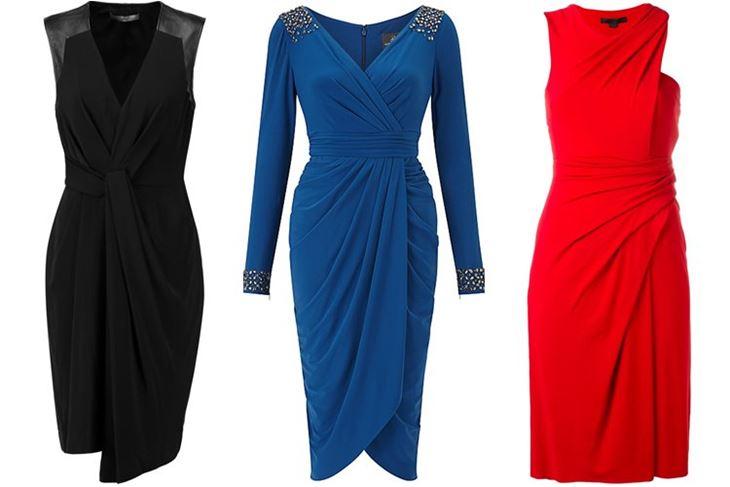Модные коктейльные платья 2017: халат