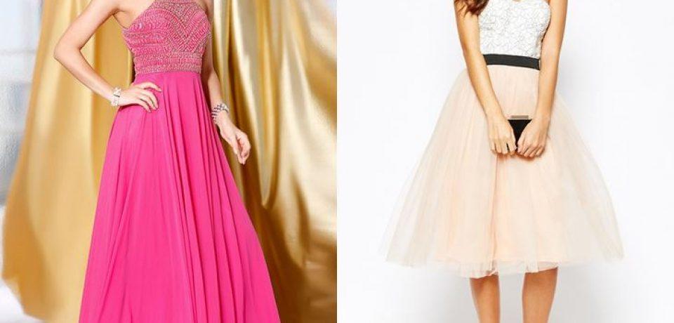 Модные красивые платья на выпускной 2017