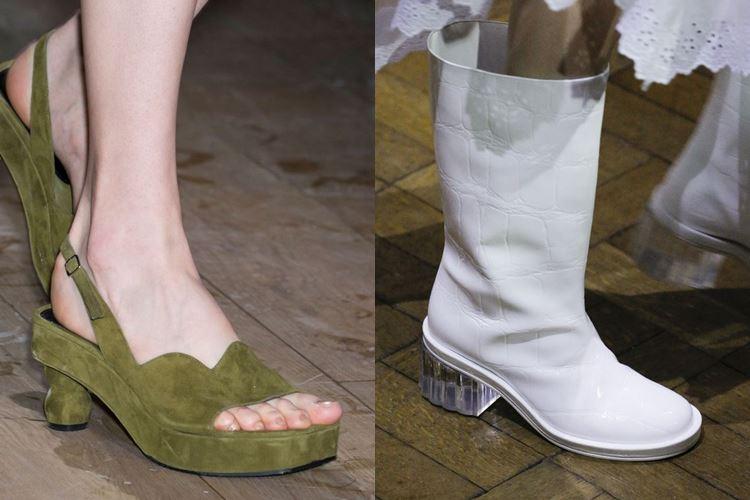 Модная женская обувь весна-лето 2017: низкий каблук
