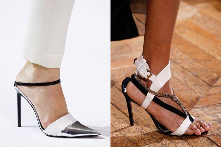 Модная женская обувь весна-лето 2017: босоножки на шпильке