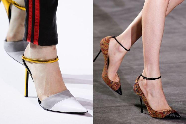 Модная женская обувь весна-лето 2017: ремешки на щиколотке
