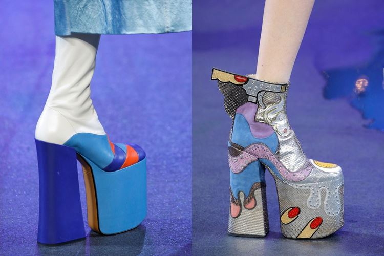 Модная женская обувь весна-лето 2017: высокий каблук и платформа