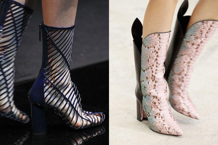 Модная женская обувь весна-лето 2017:  перфорация