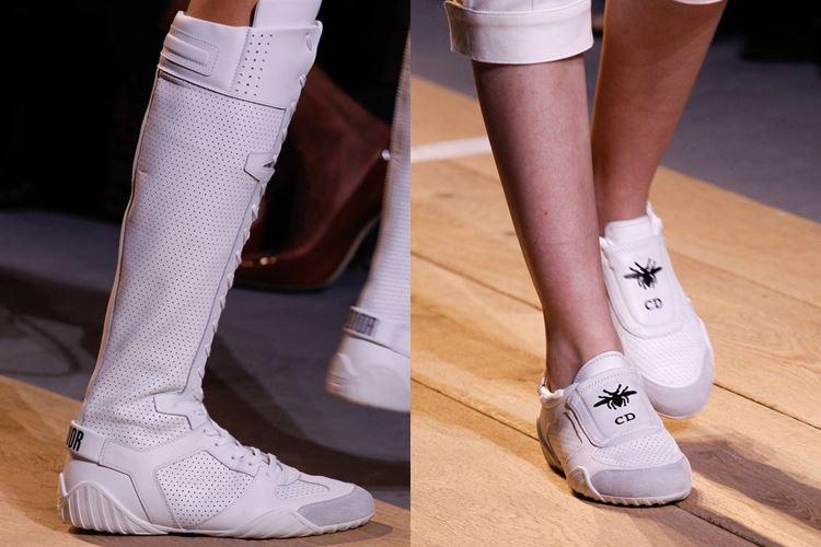 Модная женская обувь весна-лето 2017: спортивная