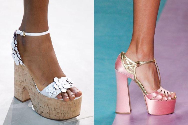 Модная женская обувь весна-лето 2017: футуристический стиль