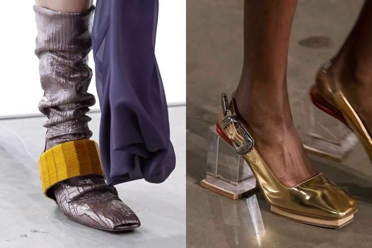Модная женская обувь весна-лето 2017: квадратный мысок