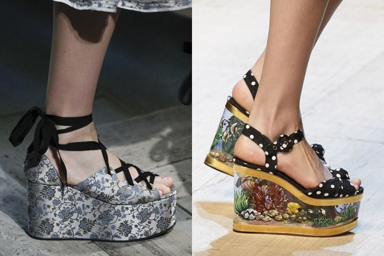 Модная женская обувь весна-лето 2017: японские сабо