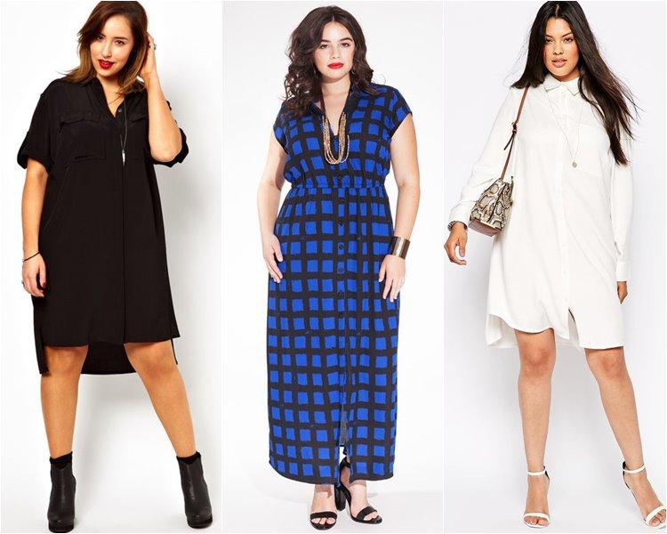 Модели летних платьев 2017 для полных женщин