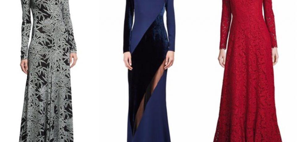 Модные вечерние платья 2017
