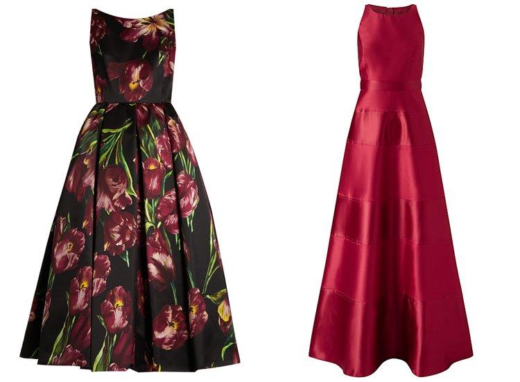Модные вечерние платья 2017: ретро-стиль 50-х