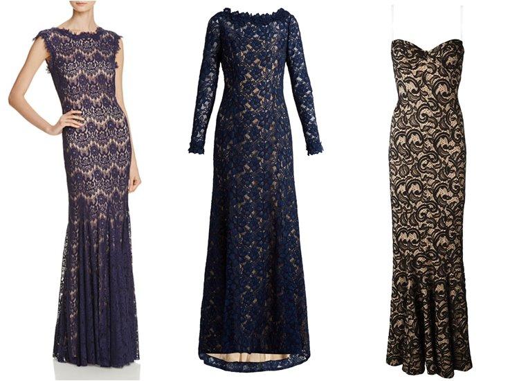 Модные вечерние платья 2017: облегающие кружевные