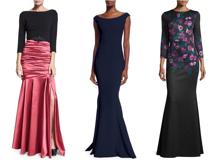 Модные вечерние платья 2017: годе