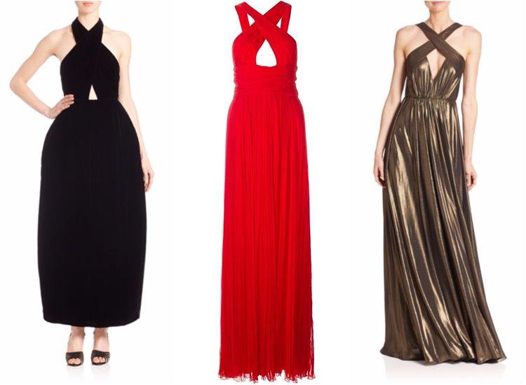 Модные вечерние платья 2017: бондажные