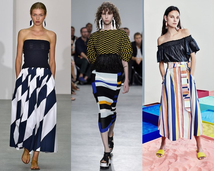 Мода Юбки Весна 2017