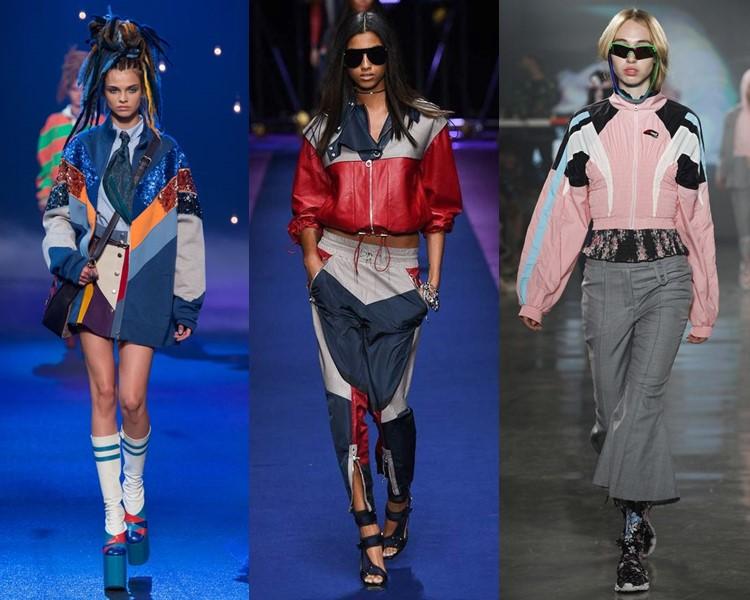 куртки в спортивном стиле весна-лето 2017