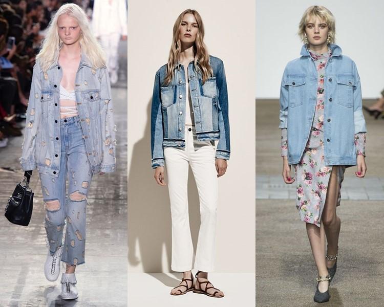 джинсовые куртки весна-лето 2017