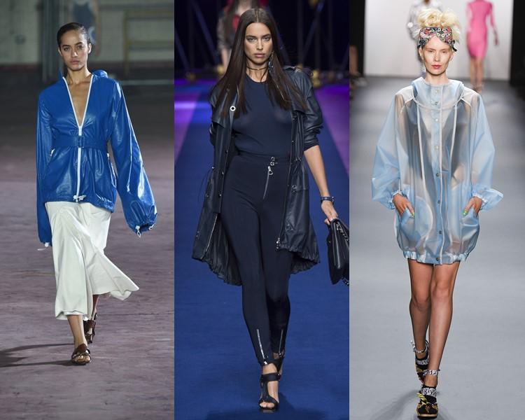 модные дождевики весна-лето 2017
