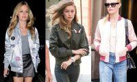 Модные женские куртки бомберы 2017