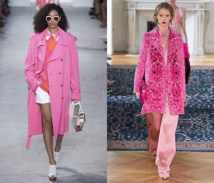 Пальто Мода Весна 2018