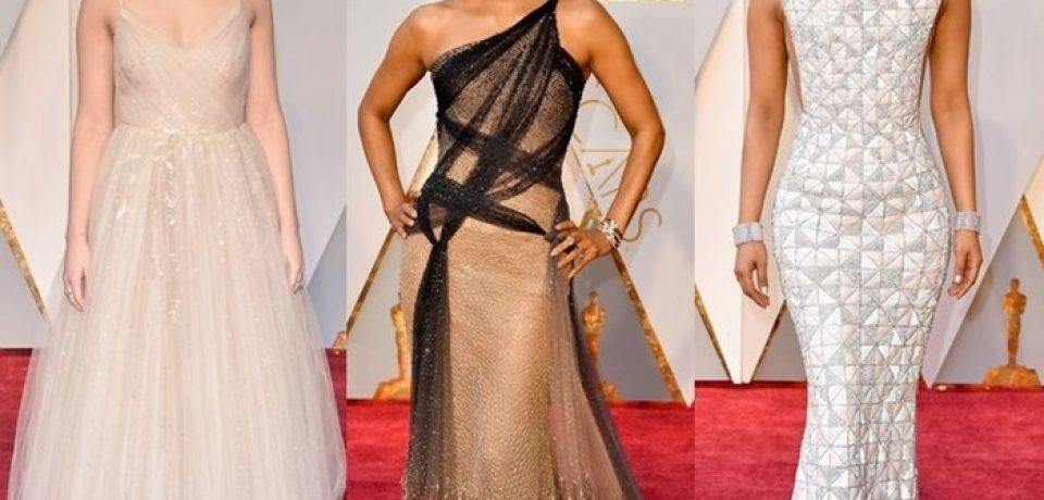 «Оскар»-2017: наряды знаменитостей с красной дорожки