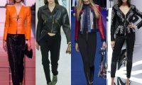 Женские кожаные куртки 2017
