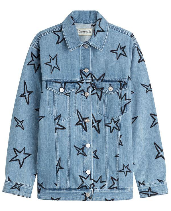 джинсовая куртка со звездами