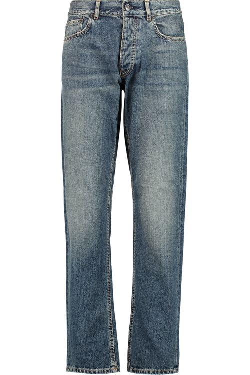 длинные протертые джинсы бойфренды
