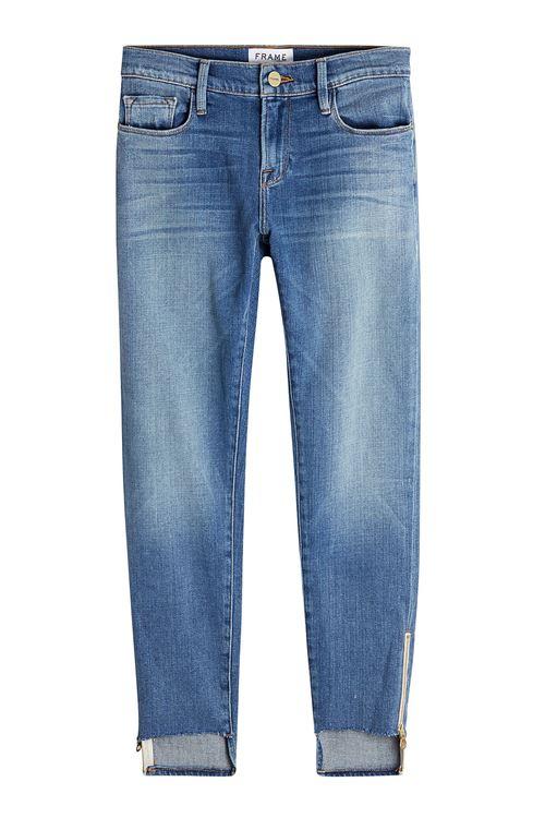 зауженные джинсы бойфренды с низкой посадкой