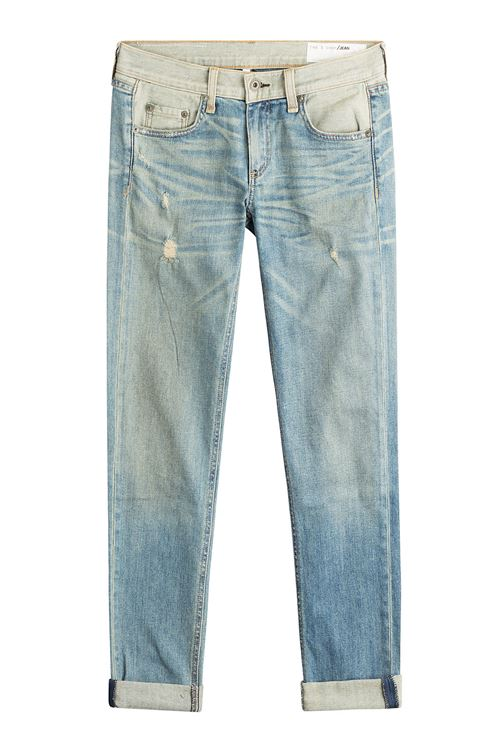 протертые джинсы бойфренды