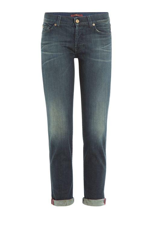 протертые подвернутые джинсы бойфренды
