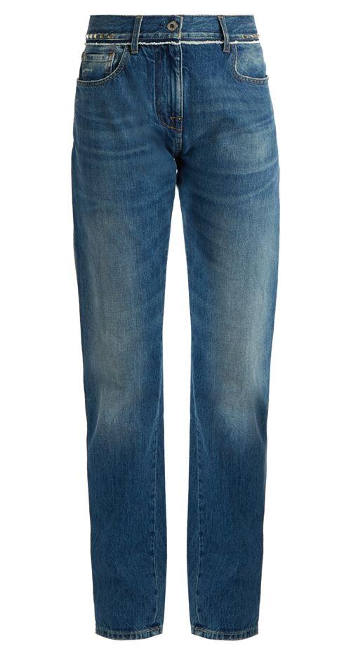 прямые джинсы бойфренды