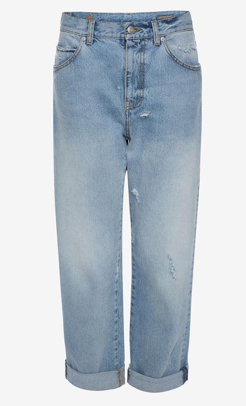 подвернутые джинсы бойфренды
