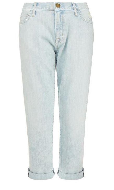 светло голубые джинсы бойфренды