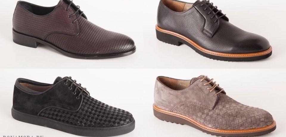 Коллекция мужской обуви Deri&Mod весна-лето 2017