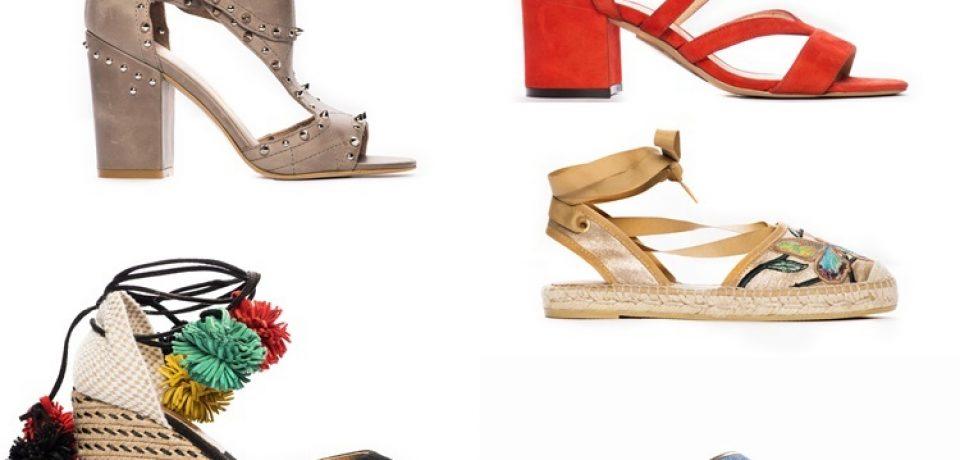 Коллекция женской обуви Deri&Mod весна-лето 2017