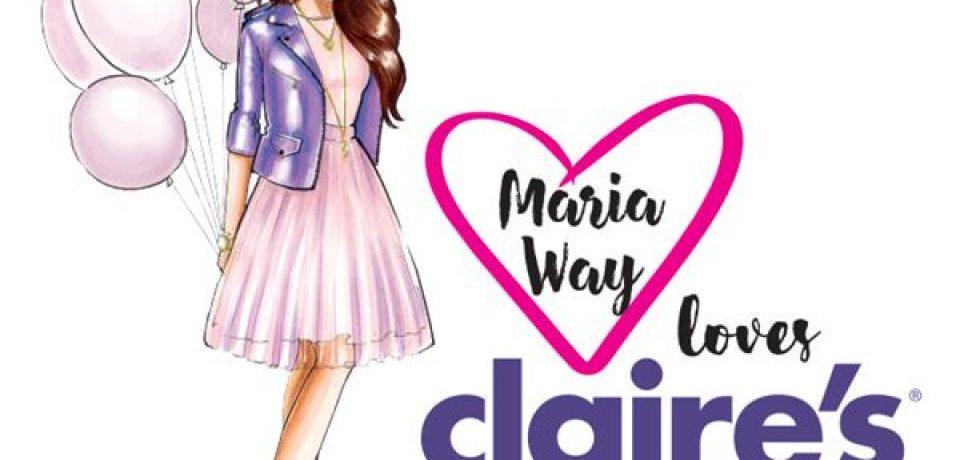 Видеоблогер Мария Вэй выпускает коллекцию совместно с Claire's