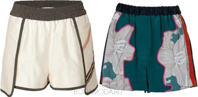 модные спортивные шорты