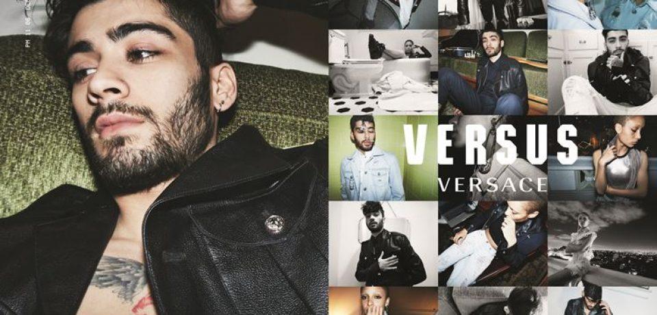 Зейн Малик в объективе Джиджи Хадид для рекламной кампании Versus весна-лето 2017