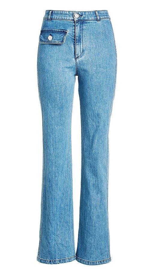 MOTHER Джинсовые брюки-капри