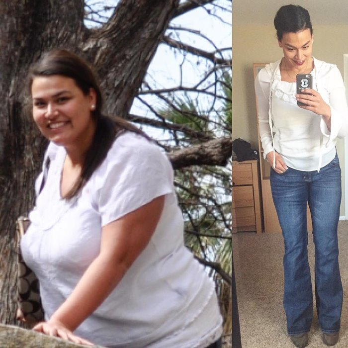 похудение на 70 кг - фото до и после